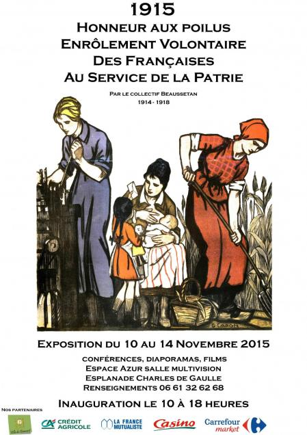 Affiche honneur aux poilus 17 08 15 1