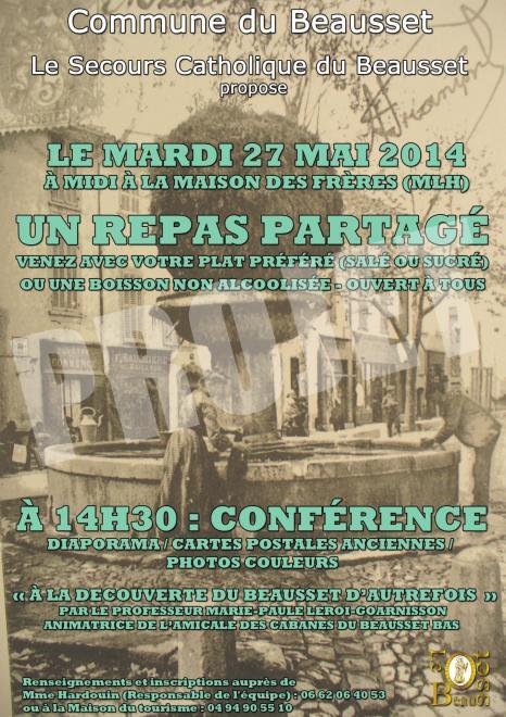 Affiche conference repas partage 3